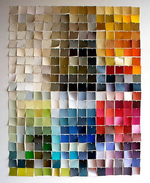 50 Fun Things To Do With Paint Chip Samples Broke Healthy