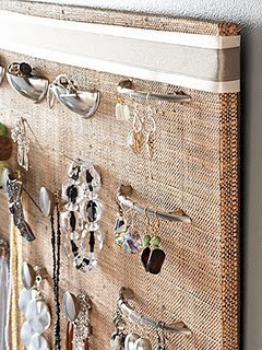 hang jewelry on handles