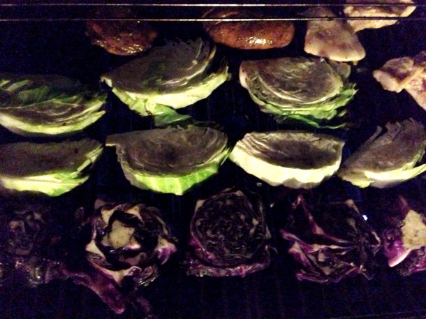 Grilled Red Cabbage Steaks - 16¢